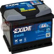 Μπαταρία Αυτοκινήτου Exide Excell EB442 12V 44AH-420EN A-Εκκίνησης