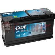 Μπαταρία Αυτοκινήτου EXIDE EFB Start Stop EL1050  12V 105Ah  950A-Εκκίνησης