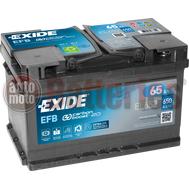 Μπαταρία Αυτοκινήτου EXIDE EFB Start Stop EL652  12V 65Ah  650A-Εκκίνησης