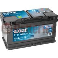 Μπαταρία Αυτοκινήτου EXIDE EFB Start Stop EL752  12V 75Ah  730A-Εκκίνησης