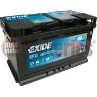Μπαταρία Αυτοκινήτου EXIDE EFB Start Stop EL800  12V 80Ah  720A-Εκκίνησης
