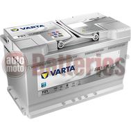 Μπαταρία Αυτοκινήτου VARTA F21 Start Stop Plus AGM Technology 12V 80AH-800A-Εκκίνησης