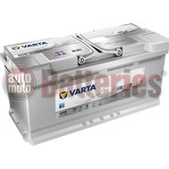 Μπαταρία Αυτοκινήτου VARTA Silver Dynamic AGM Technology H15  Start Stop  12V 105AH-950A-Εκκίνησης