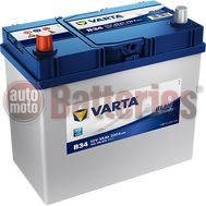 Μπαταρία Αυτοκινήτου Varta Blue Dynamic B34 12V 45AH-330EN A-Εκκίνησης