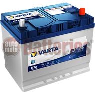 Μπαταρία Αυτοκινήτου VARTA Blue Dynamic EFB Technology N72  Start Stop  12V 72AH  760A-Εκκίνησης