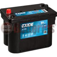 Μπαταρία Αυτοκινήτου EXIDE AGM EK508 Start Stop 12V 50Ah 800EN A-Εκκίνησης
