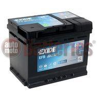 Μπαταρία Αυτοκινήτου EXIDE EFB Start Stop EL600  12V 60Ah 640A-Εκκίνησης