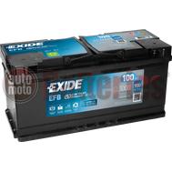 Μπαταρία Αυτοκινήτου EXIDE EFB Start Stop EL1000  12V 100Ah  900A-Εκκίνησης