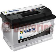 Μπαταρία Αυτοκινήτου Varta Black Dynamic E9 12V 70AH  640EN A  Εκκίνησης