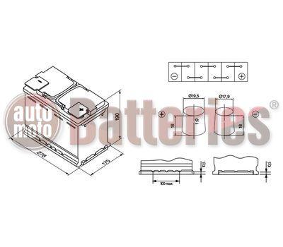 Μπαταρία BOSCH 0092S5A080 S5 AGM START/STOP S5A08 70AH 760EN  ETN-570901076
