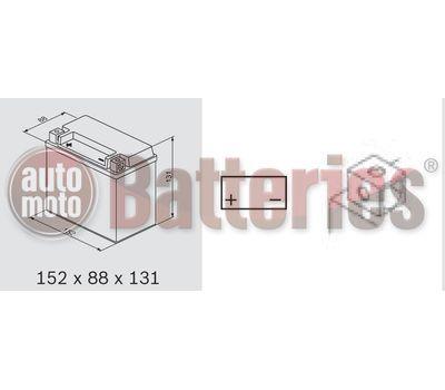 Μπαταρία Μοτοσυκλέτας Yuasa YTX12-BS 12V 10.5 AH 180CCA
