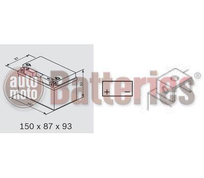 Μπαταρία Μοτοσυκλέτας Yuasa YTZ10S-BS 12V  9,1AH  190CCA ( TTZ10S )