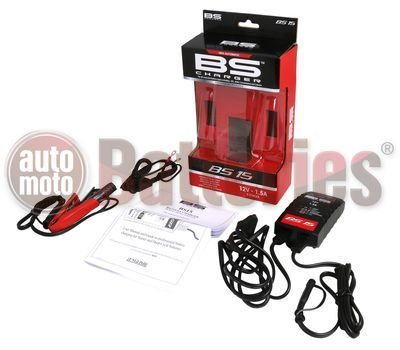 BS15 Smart Battery Charger