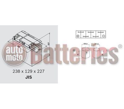 Μπαταρία Αυτοκινήτου Continent Premium Power B24L 12V  45Ah  420EN Εκκίνησης