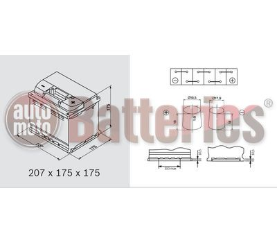 Μπαταρία Αυτοκινήτου Banner Power Bull PROfessional P5042 12V 50AH-400EN Original Equipment Technology