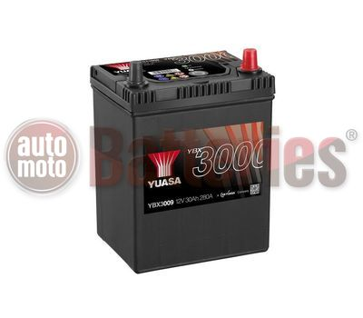 YUASA YBX3009 12V Capacity  30Ah  280A Yuasa SMF Battery