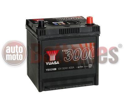 YUASA YBX3108 12V Capacity  50Ah   400A Yuasa SMF Battery