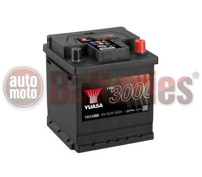 YUASA YBX3202 12V Capacity  40Ah  360A Yuasa SMF Battery