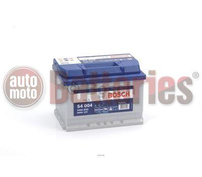 Μπαταρία Αυτοκινήτου Bosch S4004 12V 60AH-540EN A-Εκκίνησης