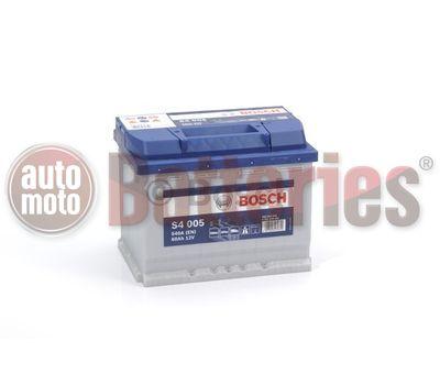 Μπαταρία Αυτοκινήτου Bosch S4005 12V 60AH-540EN A-Εκκίνησης