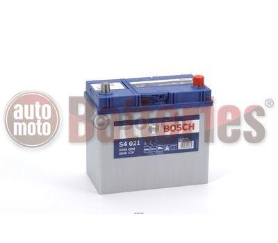 Μπαταρία Αυτοκινήτου Bosch S4021 12V 45AH-330EN A-Εκκίνησης