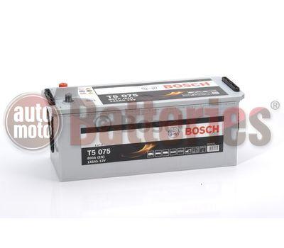 Μπαταρία  Φορτηγού-Σκάφους-Λεωφορείου   Bosch  T5075 12V  145AH  800EN  Α-Εκκίνησης