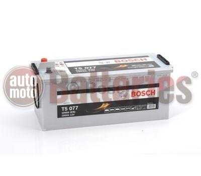 Μπαταρία  Φορτηγού-Σκάφους-Λεωφορείου   Bosch  T5077 12V  180AH 1000EN  Α-Εκκίνησης