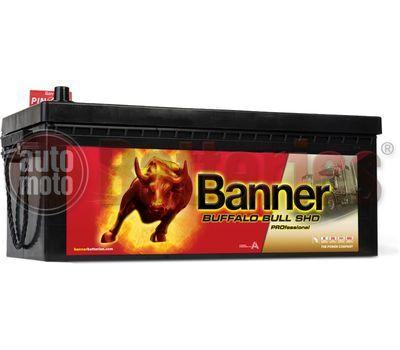 Μπαταρία φορτηγού Banner Buffalo Bull 68008 SHD PROfessional 180AH 1000EN Α-Εκκίνησης