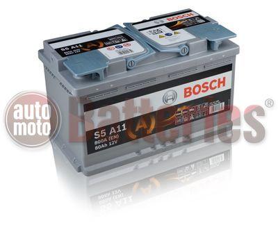 Μπαταρία Αυτοκινήτου  BOSCH  AGM  S5A11  Start  Stop  80AH 800EN Α-Εκκίνησης
