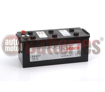 Μπαταρία  Φορτηγού-Σκάφους-Λεωφορείου   Bosch  T3077 12V  155AH  900EN  Α-Εκκίνησης