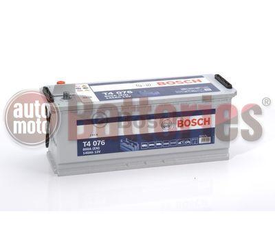 Μπαταρία  Φορτηγού-Σκάφους-Λεωφορείου   Bosch  T4076 12V  140AH  800EN  Α-Εκκίνησης