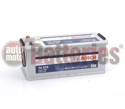 Μπαταρία  Φορτηγού-Σκάφους-Λεωφορείου   Bosch  T4078 12V  170AH  1000EN  Α-Εκκίνησης