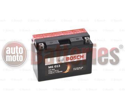Μπαταρία Μοτοσυκλέτας Bosch M6013 AGM YT9B-BS 12V 8AH 115EN