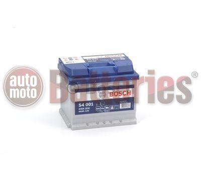 Μπαταρία Αυτοκινήτου Bosch S4001 12V 44AH-440EN A-Εκκίνησης