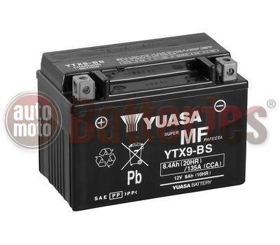 Μπαταρία Μοτοσυκλέτας Yuasa YTX9-BS 12V  8.4AH  135CCA
