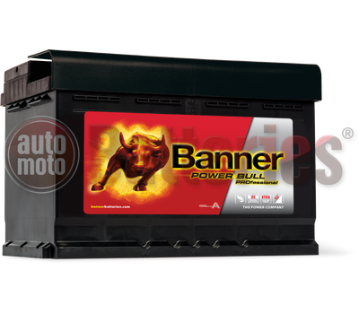 Μπαταρία Αυτοκινήτου Banner Power Bull PROfessional P7742 12V 77AH- 680EN Original Equipment Technology