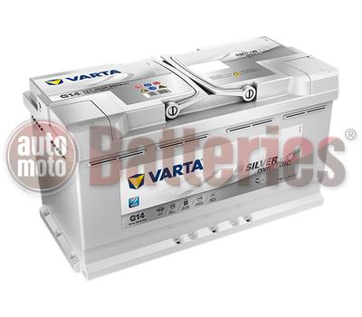 Μπαταρία Αυτοκινήτου VARTA Silver Dynamic AGM Technology G14  Start Stop  12V 95AH-850A-Εκκίνησης