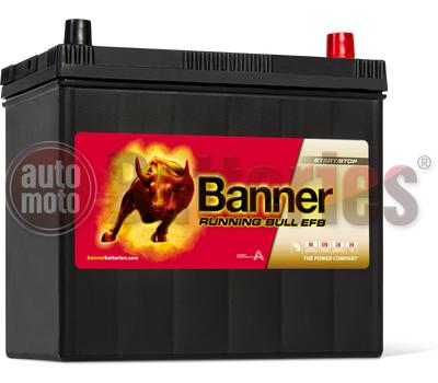 Μπαταρία Αυτοκινήτου Banner Running Bull 55515  Start Stop EFB 55AH 460EN Εκκίνησης