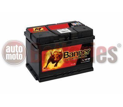 Μπαταρία Αυτοκινήτου  Banner Starting Bull 56009 12V 60AH - 480EN A-Εκκίνησης